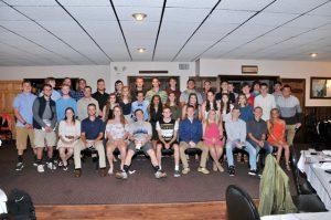 Senior Athletes group photo