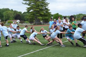 another tug of war team