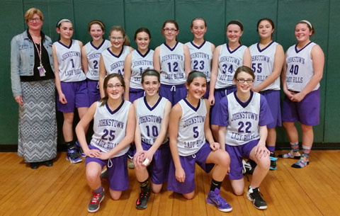2014-15 seventh grade team photo