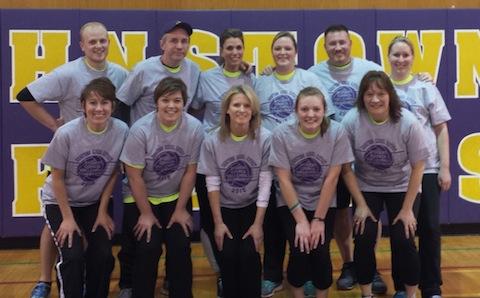 staff volleyball team