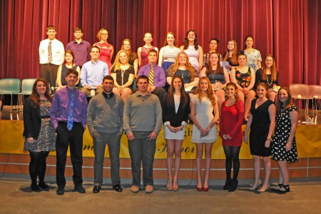 National Honor Society Inducts 27