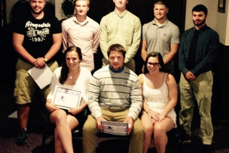 "First Triple ""J"" Club Members Recognized"