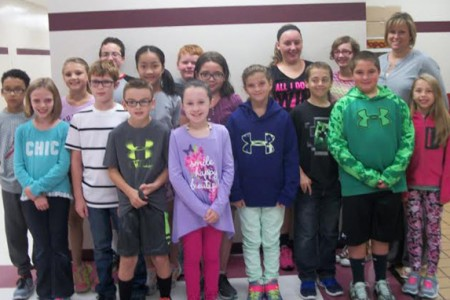 Warren St. Students of the Month for September