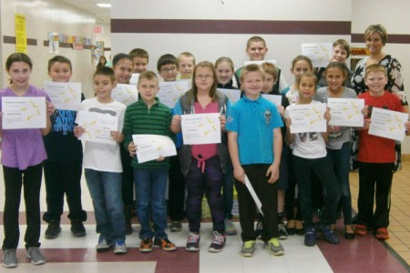 Warren Students of the Month for October