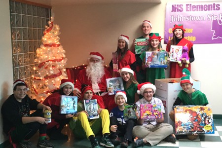 Class of 2019 Collects Toys for Tots