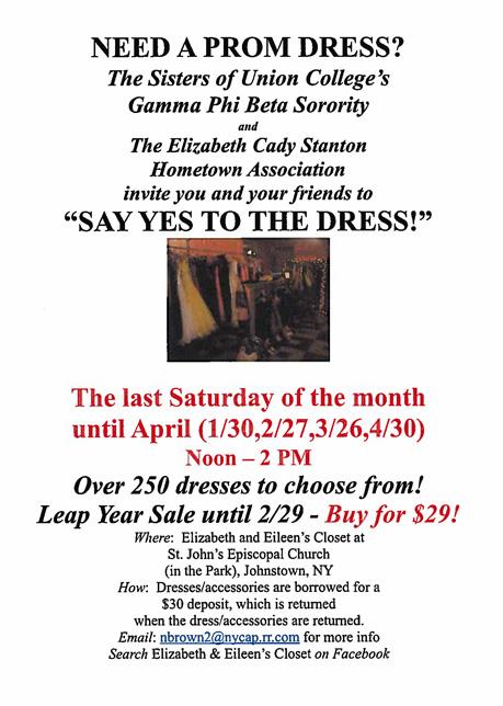 prom dress flyer
