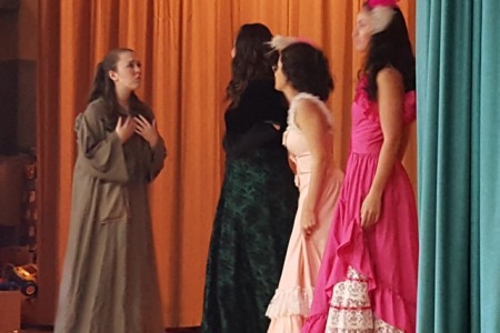 Pleasant Students Charmed by Cinderella