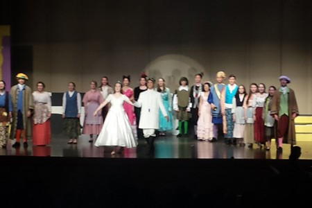 Elementary Students Preview JHS Spring Musical Cinderella