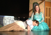 fairy godmother consoles cinderella