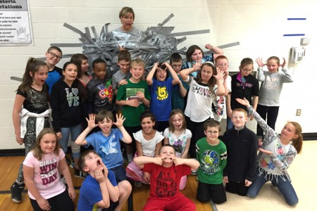 Fourth Graders Duct Tape the Principal