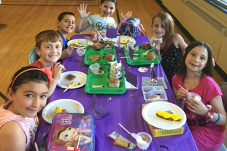 Students of the Month Enjoy Treat