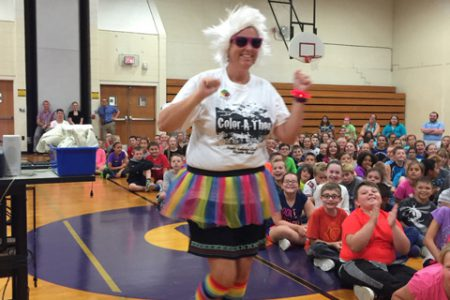 Color Run Kick-off at Warren Street