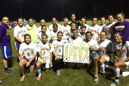 Lady Bills Soccer Supports Schalmont Player