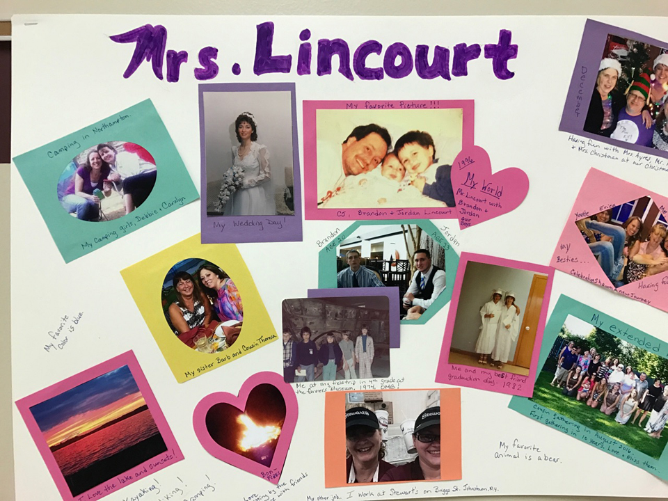 poster about Mrs Lincourt