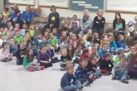 Video: Pleasant Ave. Students Singing Frosty