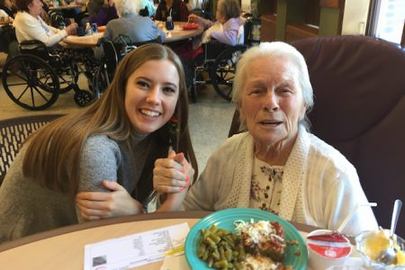 Captain's Council Brings Cheer to Nursing Home Residents