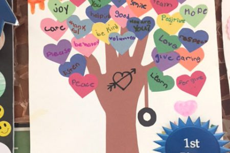 Glebe Students Create Kindness Posters