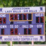 scoreboard shows 2017