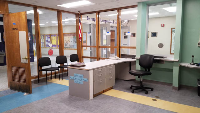 Glebe's remodeled main office