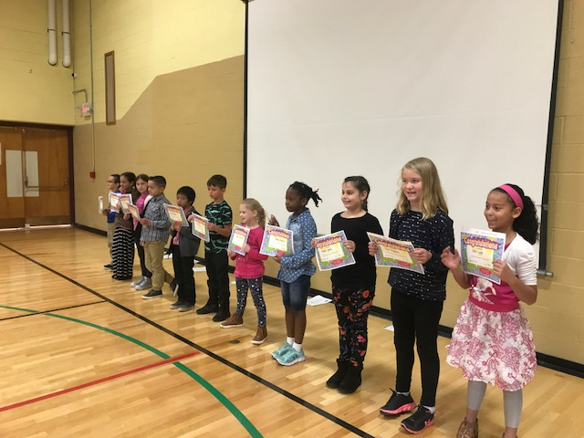 Glebe Soar for 4 Students of the Month Nov 2017