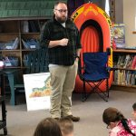 Justin VanRiper speaks to students
