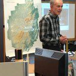 Gary VanRiper addresses students