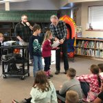 authors interact with students