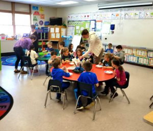 more students in classroom