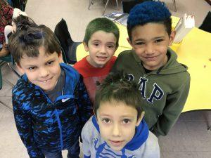 a group of boys