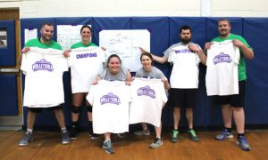 staff volleyball champs