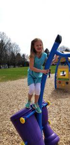 girl n playground
