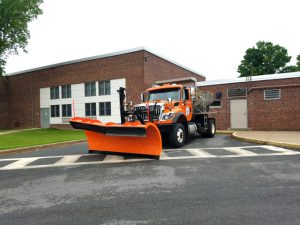 large plow truck