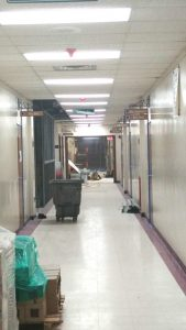 hallway at warren