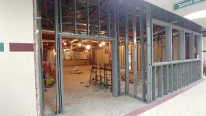 steel support columns