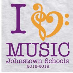 I love music Johnstown Schools 2018-2019