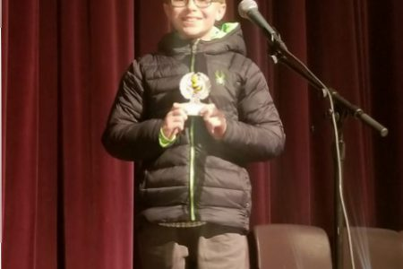 Warren Student off to Regional Spelling Bee
