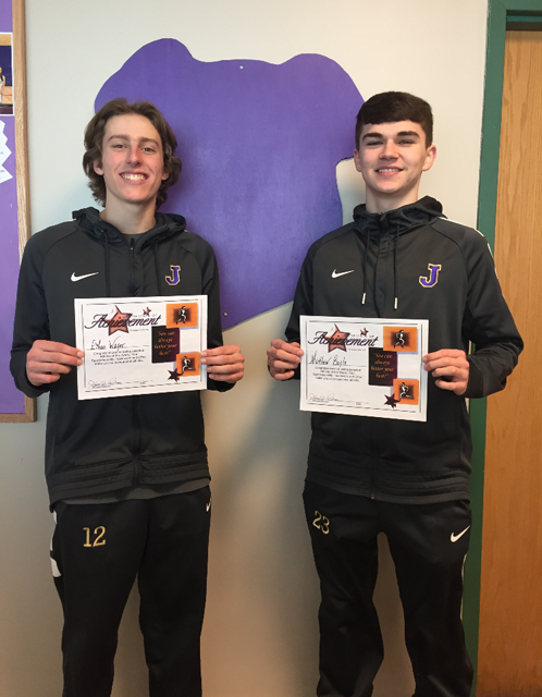 Athletes of the Week- Boys Basketball