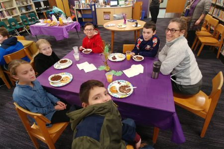 February Student of the Month Breakfast