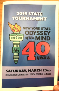 Odyssey of the Mind 40 Years Poster