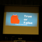 true or false on computer screen