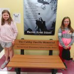 Buddy Benches Donated by Faville Fund
