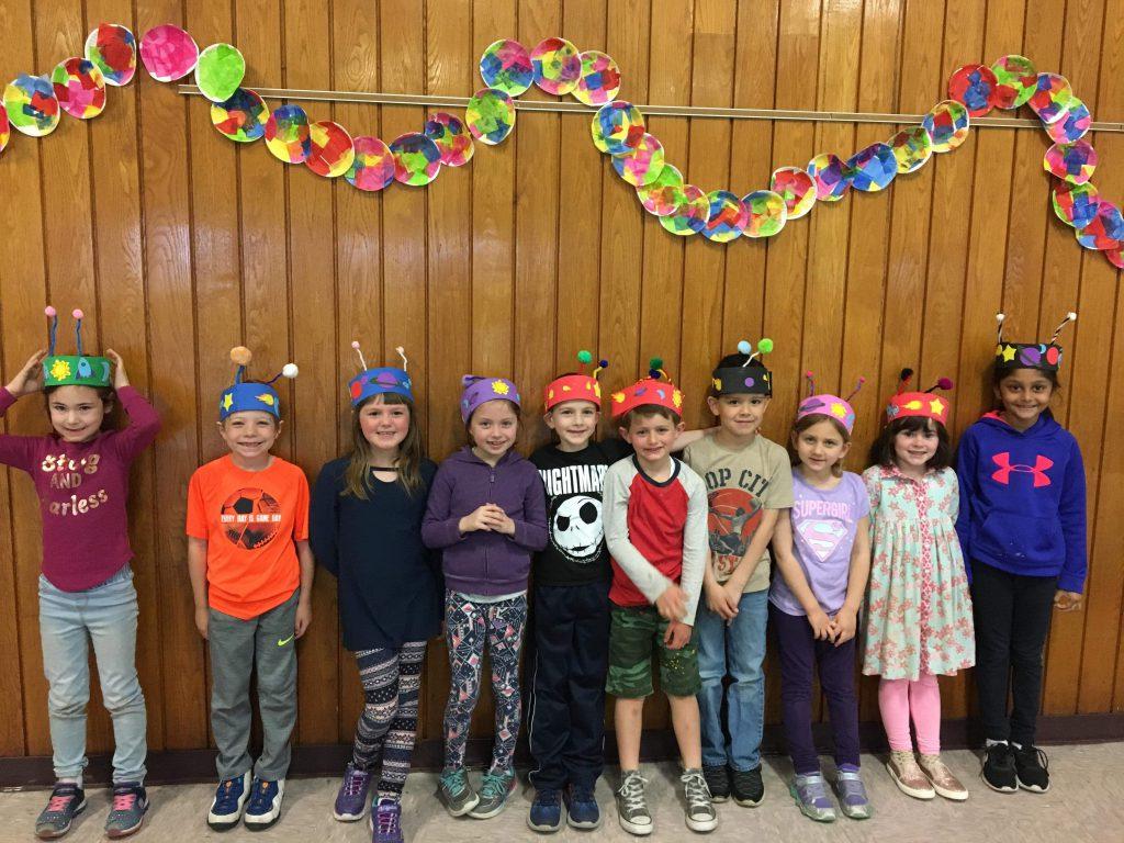 third group wearing headbands