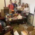 Townsend Leather Donates School Supplies