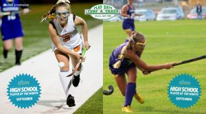 Side by side photos of Abby Allen & Taryn Ringer as posted on nfhca.org website