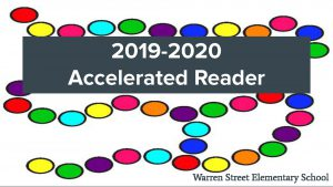title page 2019-2020 Accelerated Reader Warren Street Elementary School