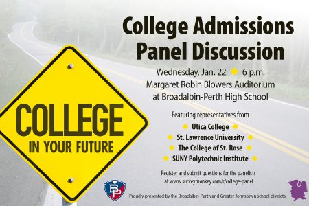 College Admissions Panel Discussion