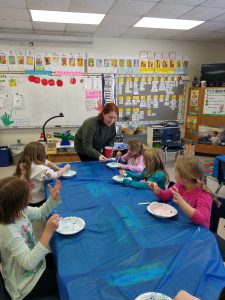 JHS student assists Pleasant Ave students