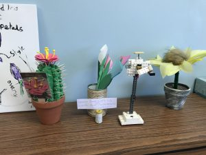 plant art created by students