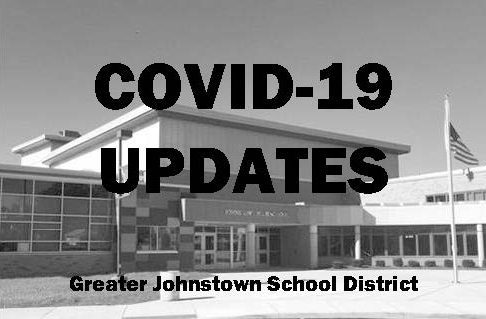 entrance to JHS; COVID-19 Updates GJSD
