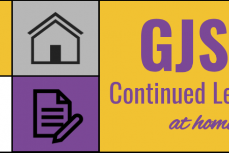 GJSD Continued Learning at Home begins Wednesday, April 1